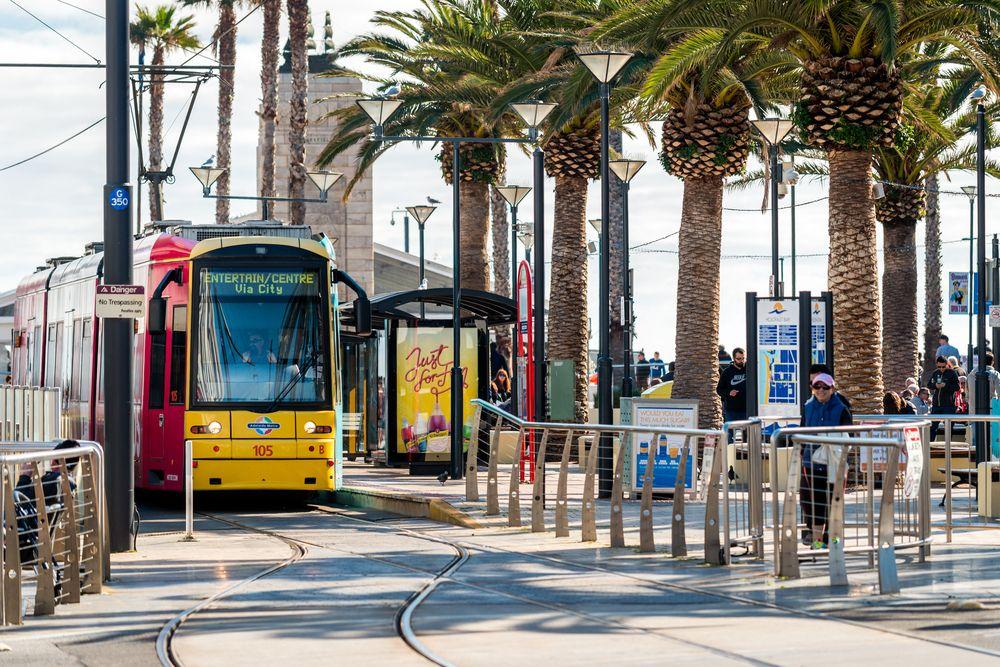 Glenelg Tram in Adelaide