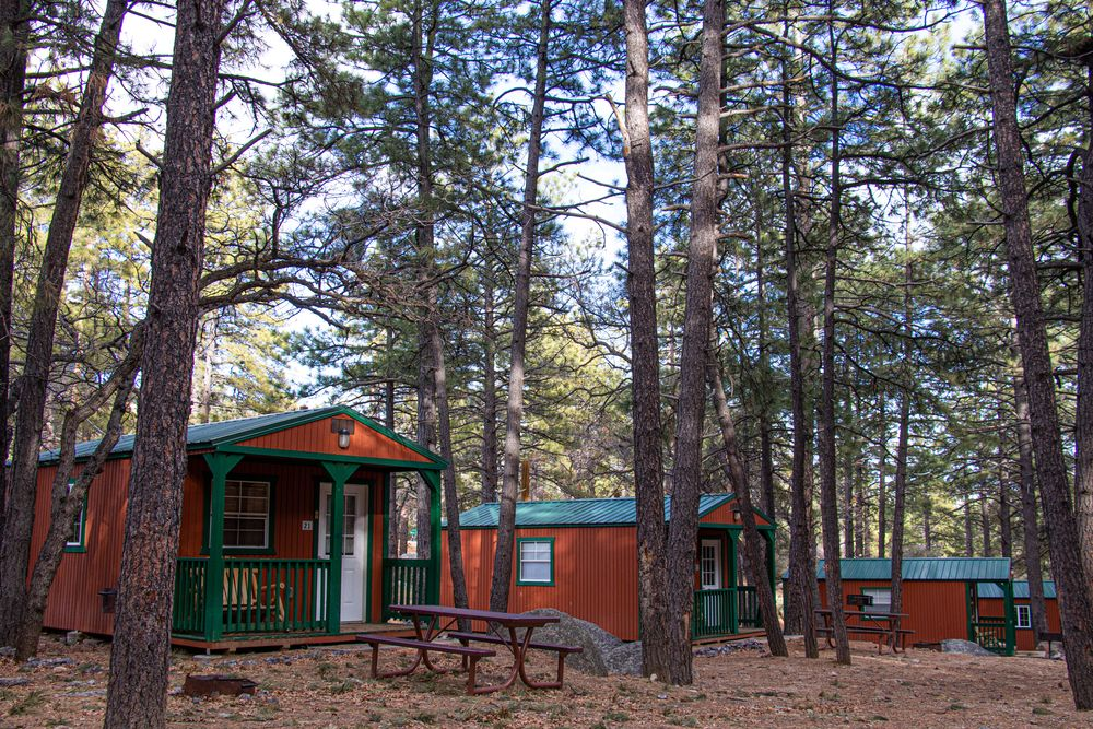 Cabins in Hualapai Mountain Park