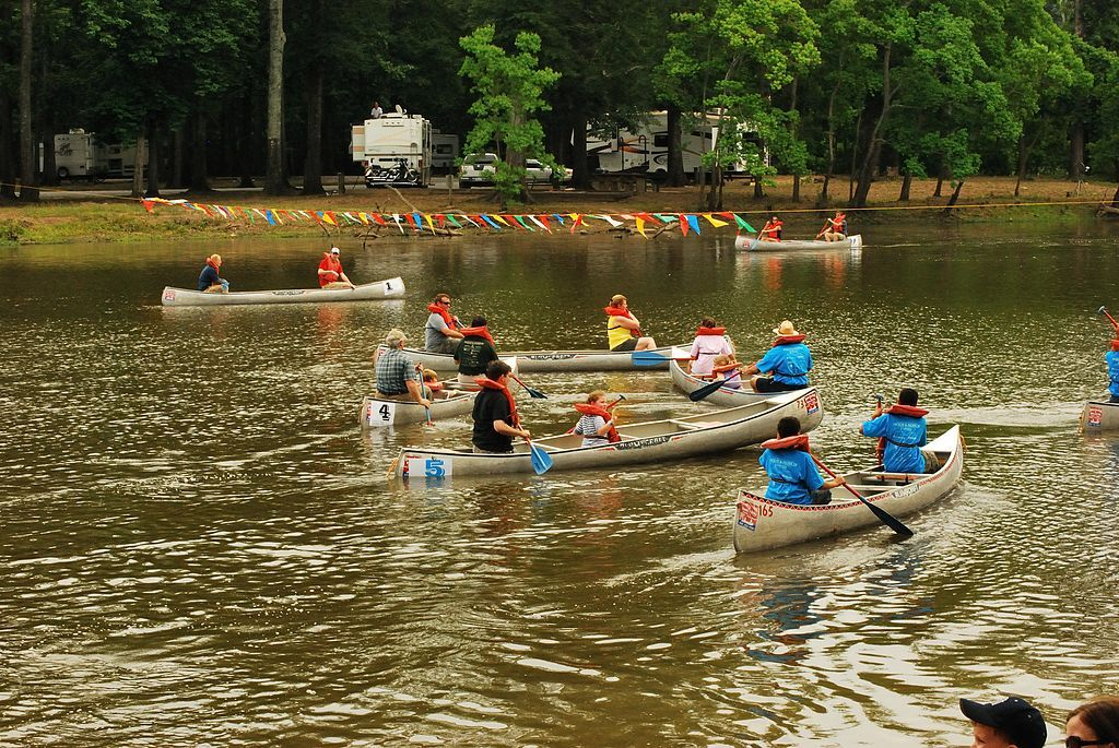 Canoeing in LeFleur's Bluff State Park