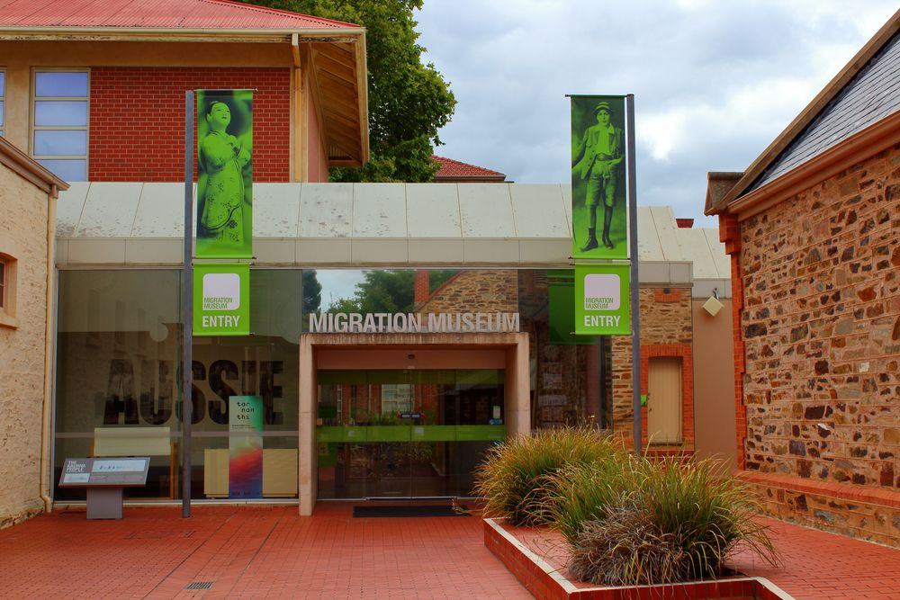 Migration Museum in Adelaide