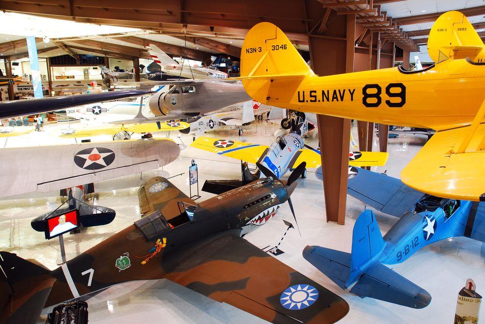 Display at National Naval Aviation Museum