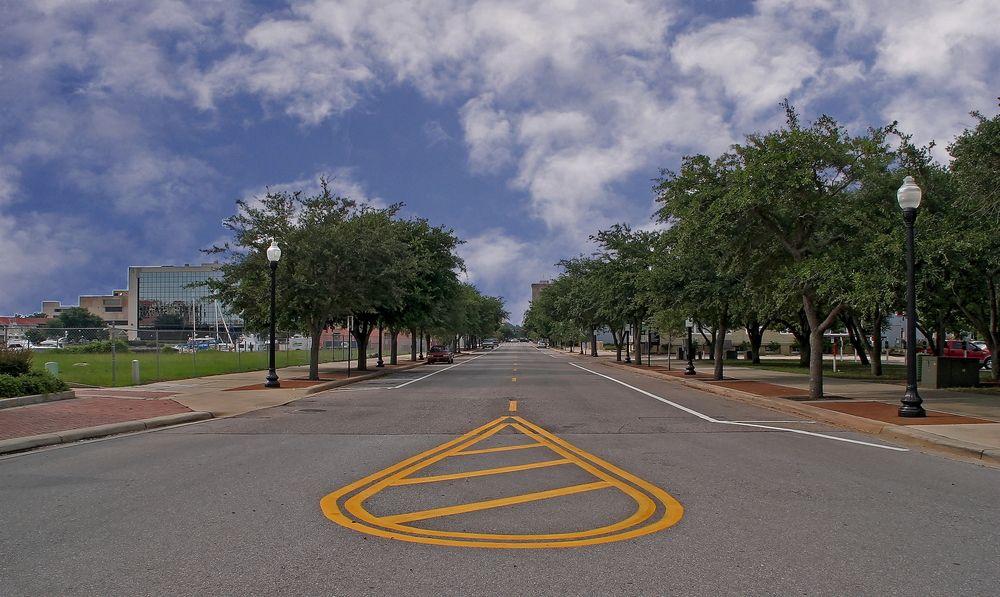 Palafox Street in Pensacola