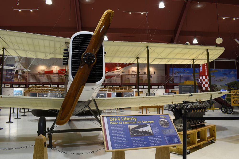 Display at Pearson Air Museum