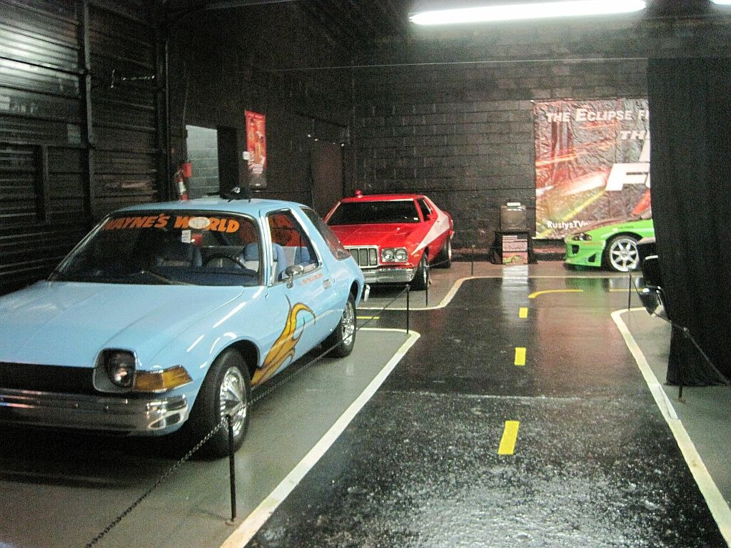 Rusty's Tv and movie car museum
