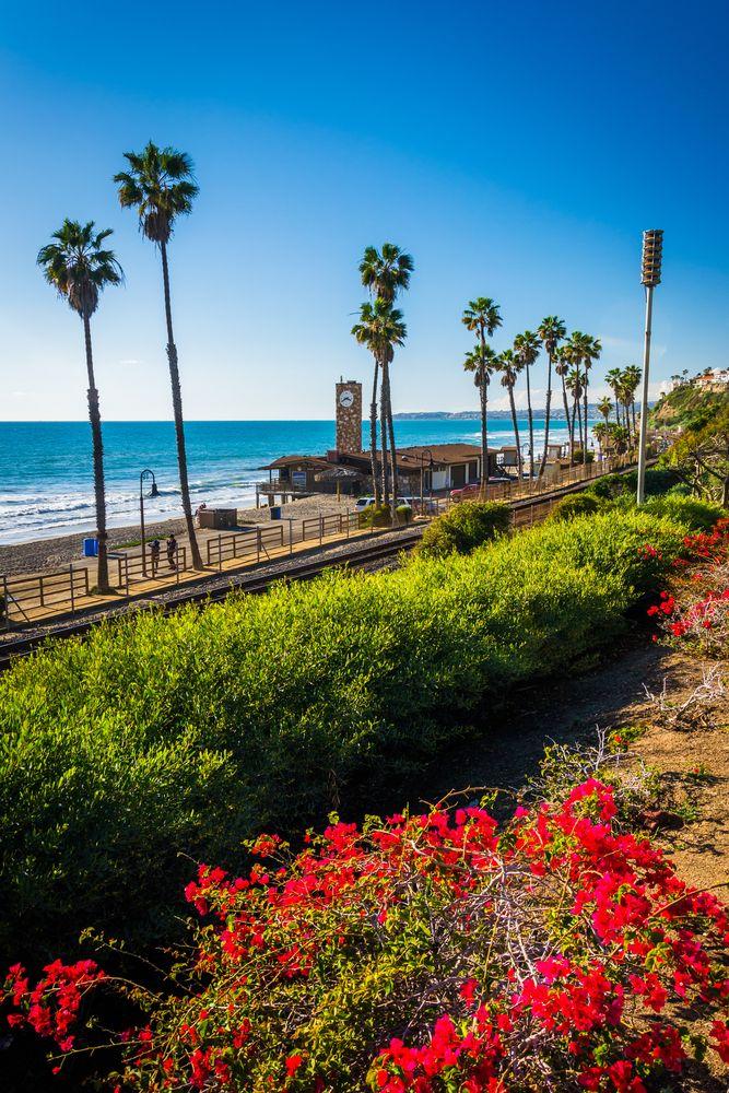 San Clemente beach view