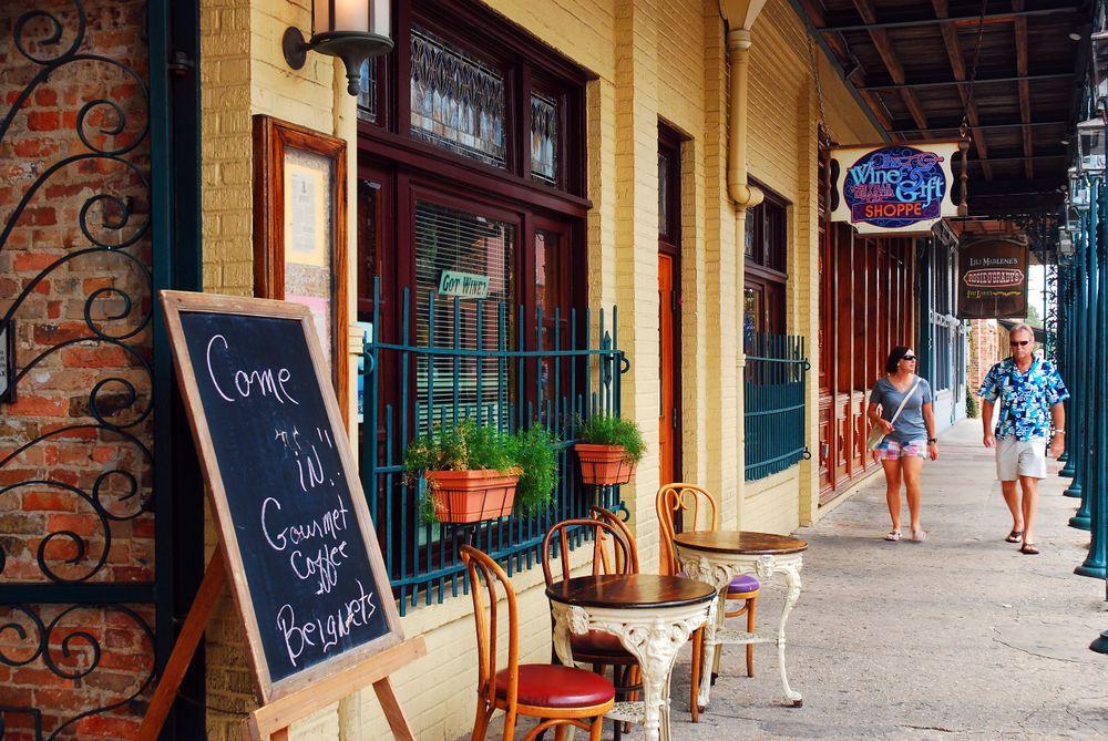 Shops in Seville Quarter