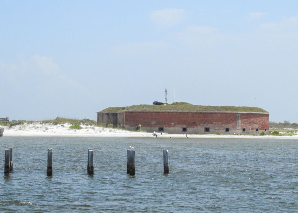 Ship Island in Mississippi