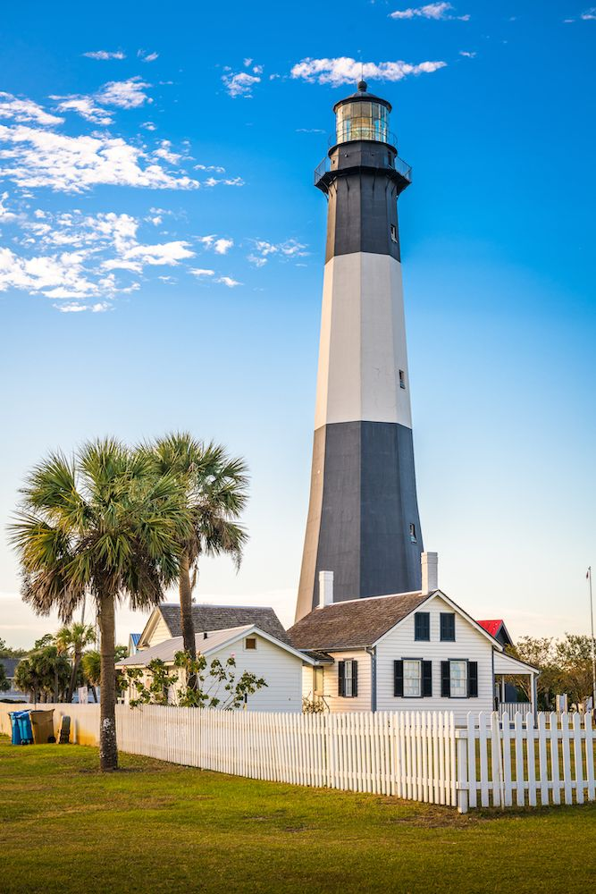 Tybee Island Lighthouse & Museum Portrait