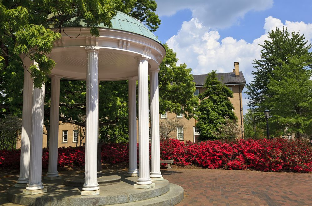 Old well in University of North Carolina