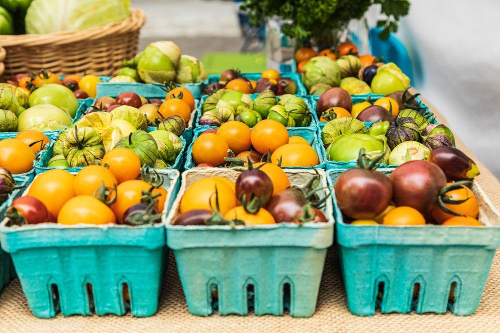 Fruits at Vancouver farmer's market
