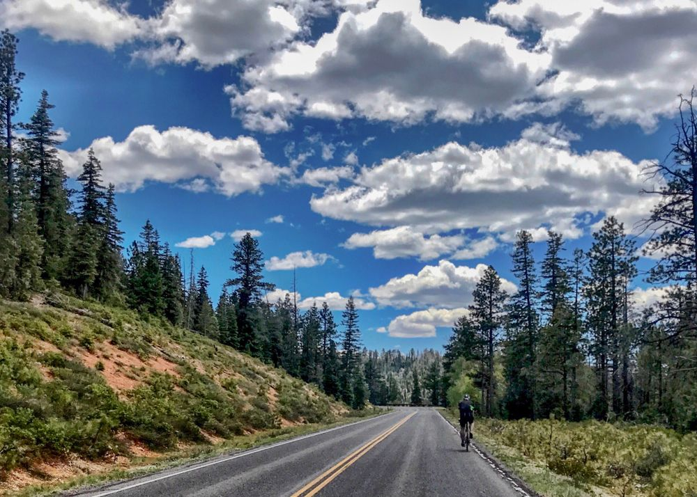 Cycling in Bryce Canyon