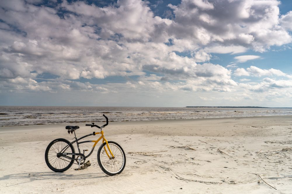 Bicycle in Jekyll Island
