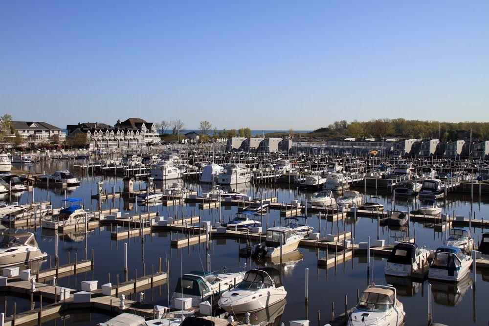 Boats in New Buffalo
