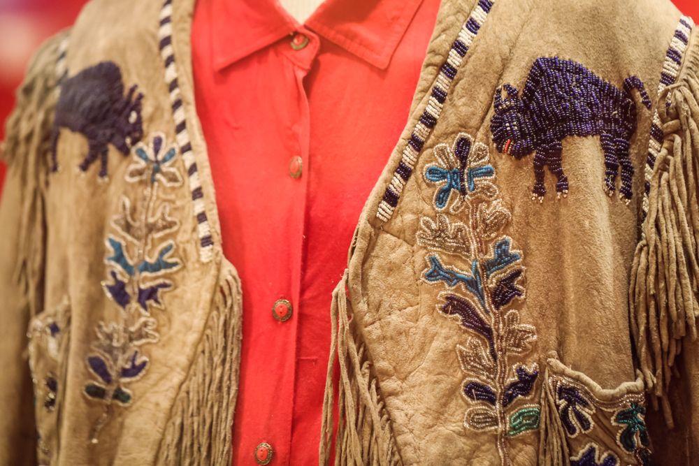 Buffalo Bill Museum display