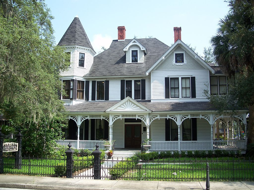 Burford House in Ocala Historic District