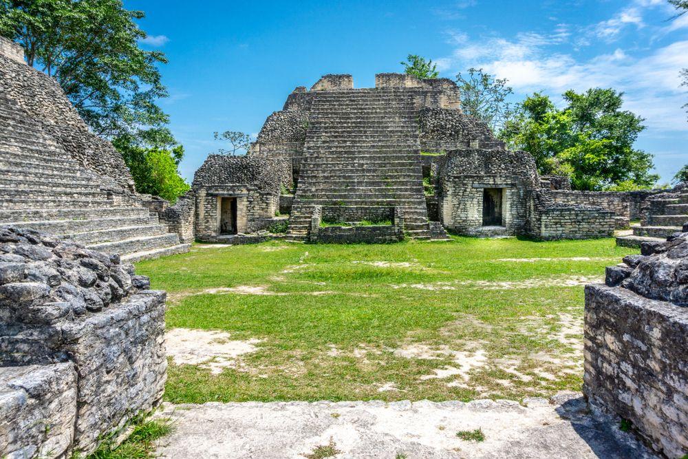 Caracol Temple Mayan Ruins
