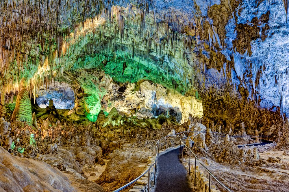 Big Hall in Carlsbad Caverns