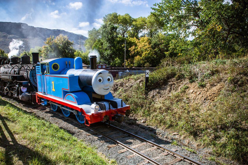 Thomas the tank engine at Colorado Railroad Museum