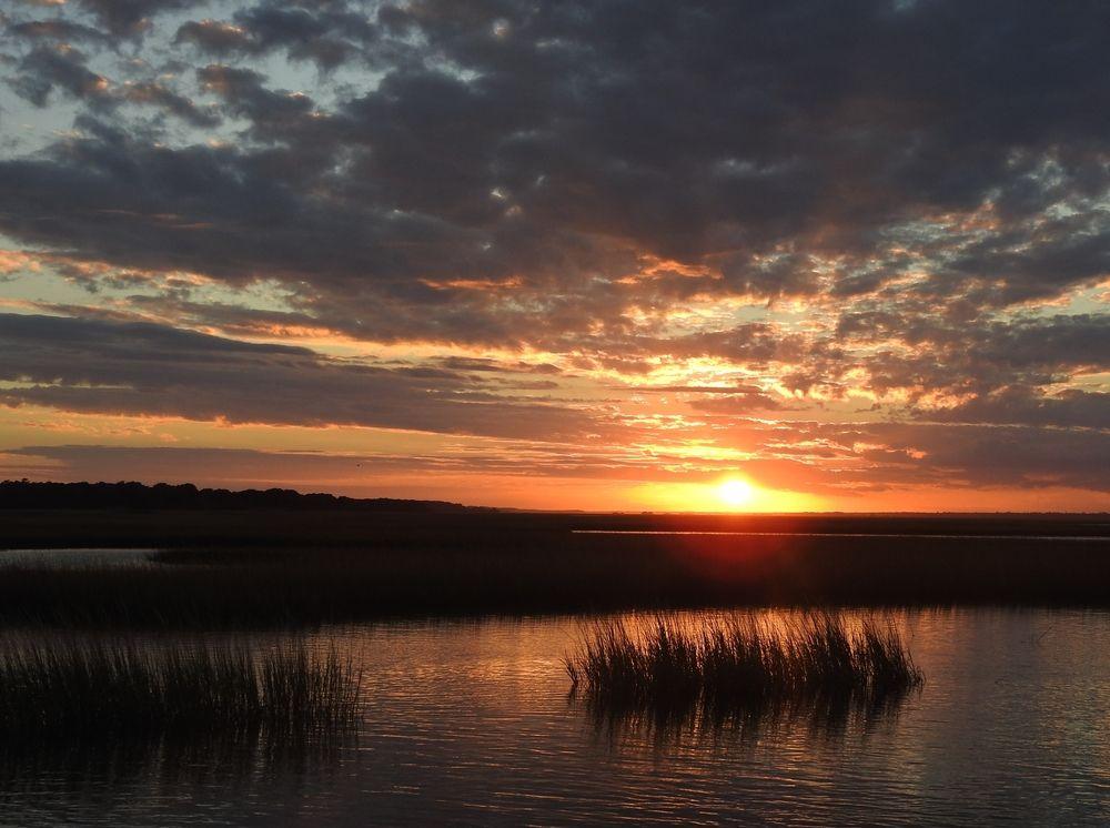 Sunset at Hammock Beach State Park