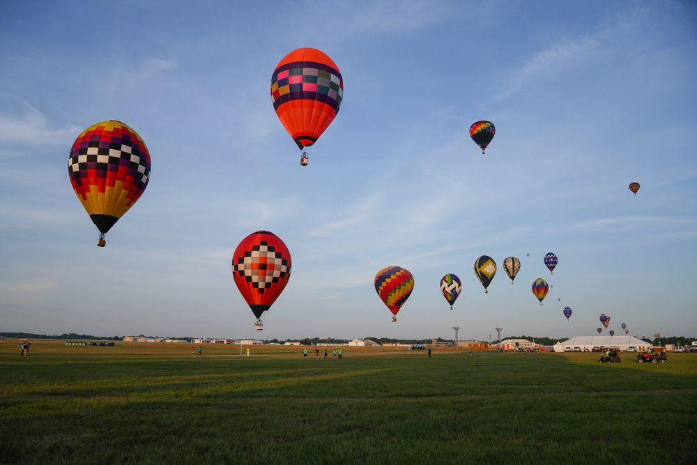 Longview Hot Air Balloon Ride