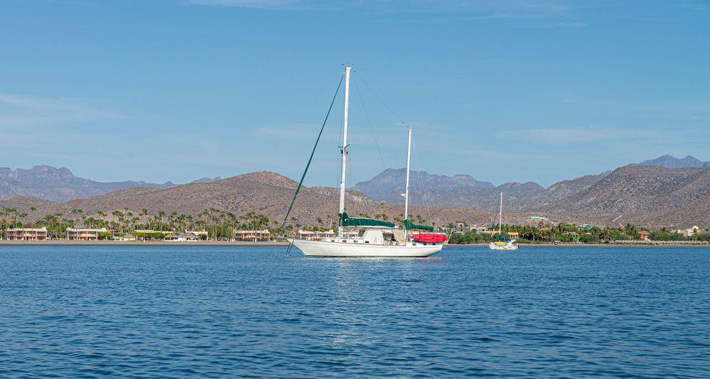 Boat in Islas Los Coronados