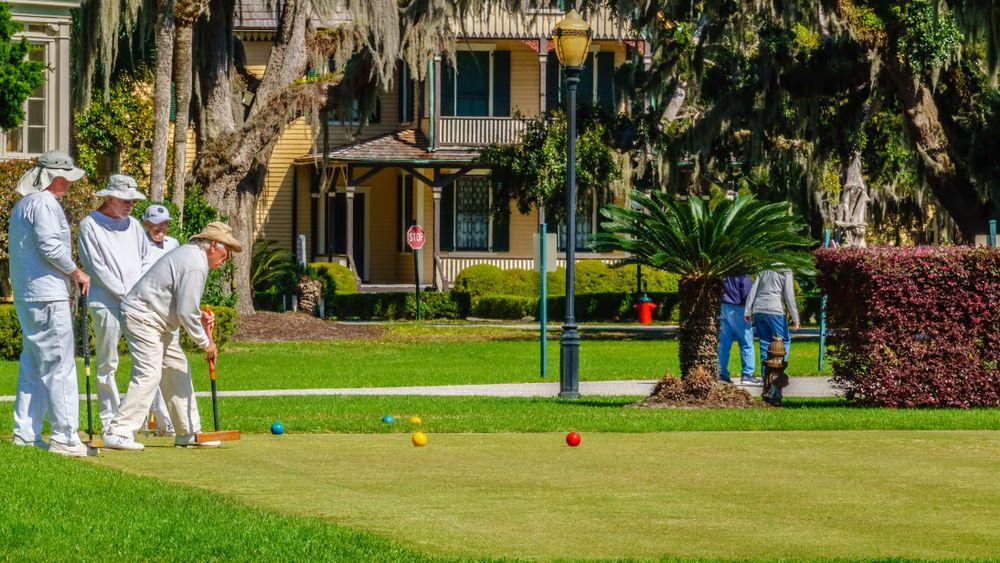 Golfing at Jekyll Island Club Hotel
