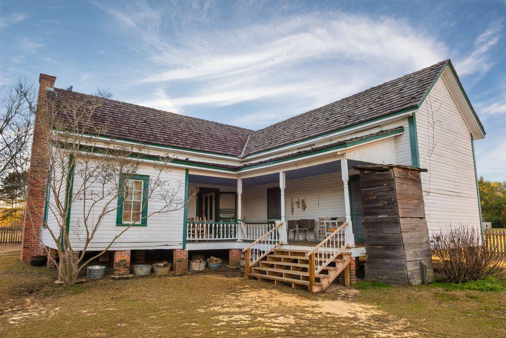 Old Farmhouse in Landmark Park