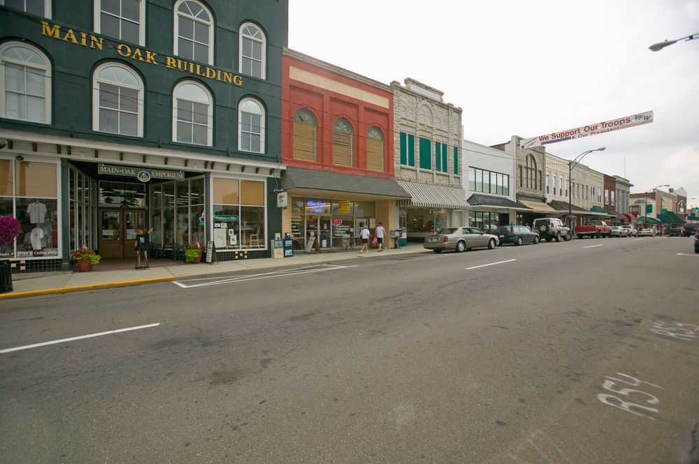 Main Street in Mount Airy