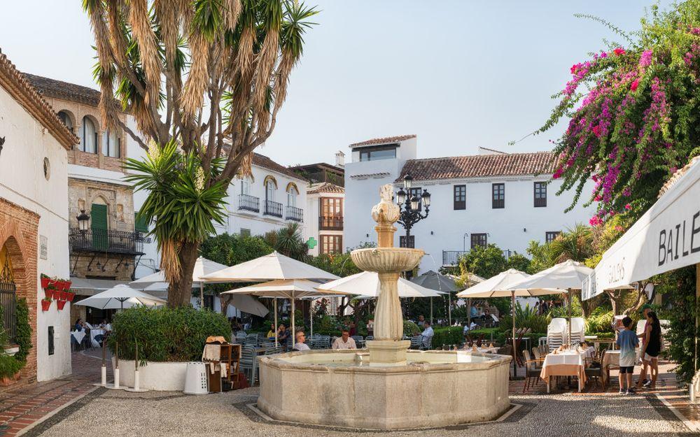 Old Town at Plaza De los Naranjos