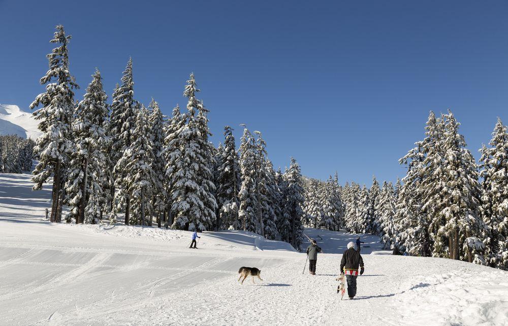 Skiing in Bend, Oregon