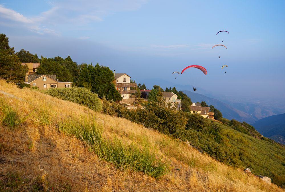 Paragliding in San Bernardino