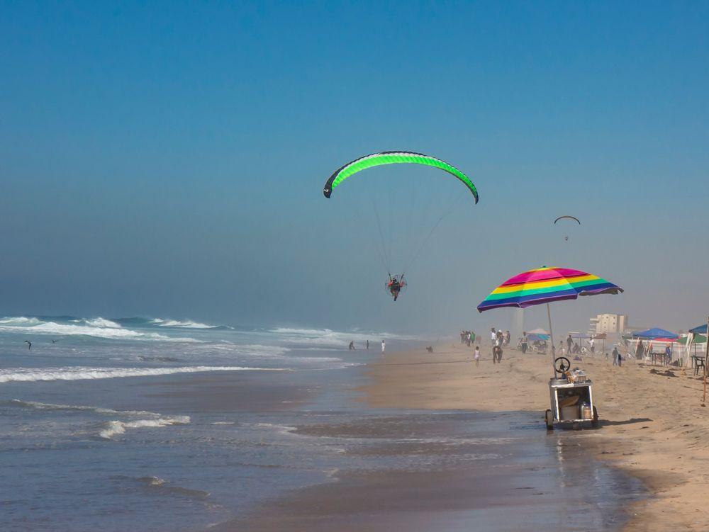 Paragliding in Rosarito Beach