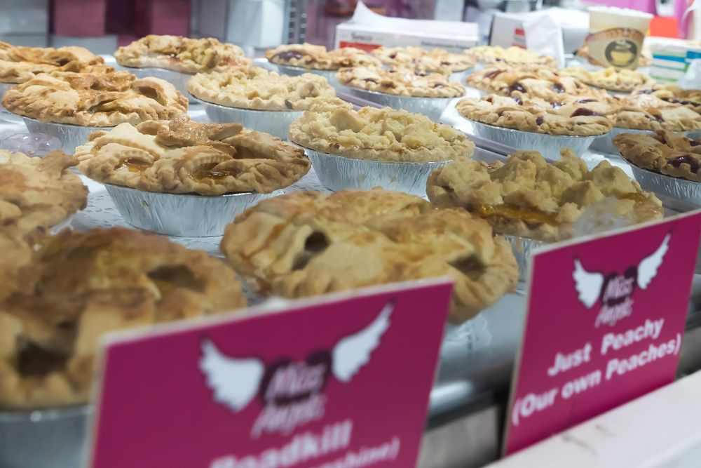 Pies from Miss Angel's bakery