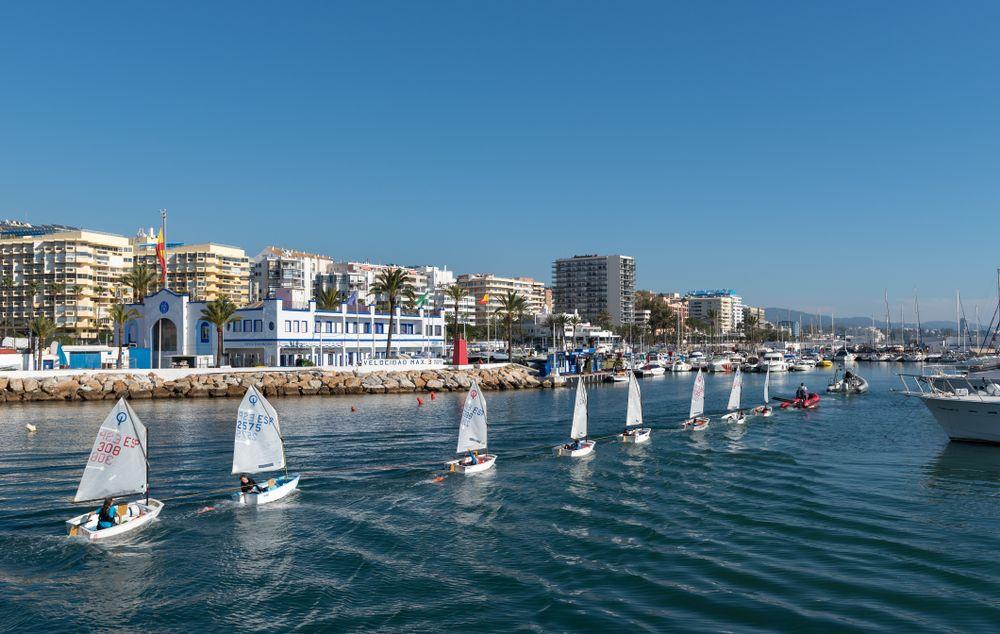 Sailing at Marbella