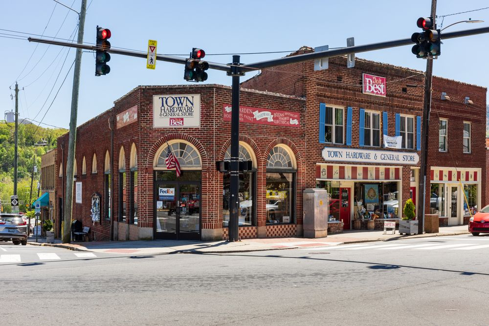 Town Hardware and General store in Downtown
