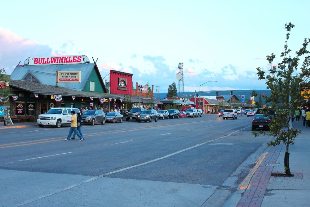 Restaurants in Downtown West Yellowstone