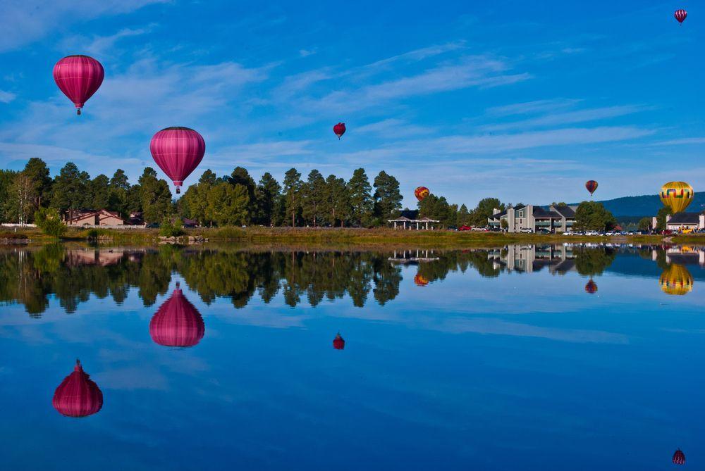 Hot air balloon in Pagosa Springs