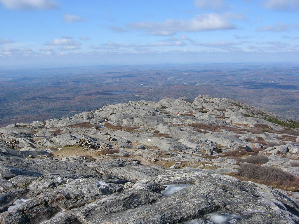 Aerial view of Mount Monadnock