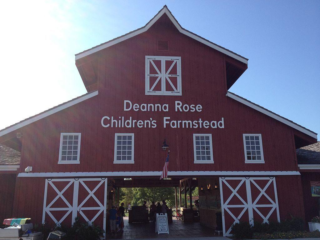 Outside Deanna Rose Children's Farmstead