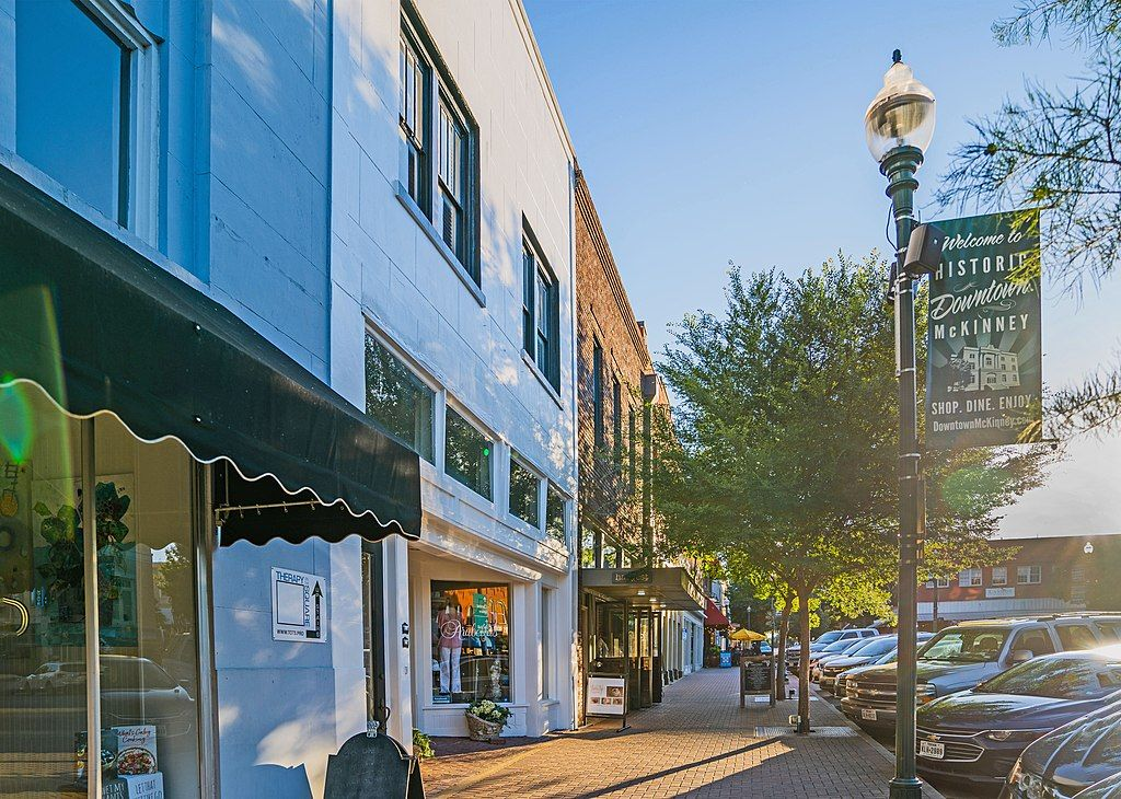 In the Main Street Historic Downtown at Overland Park