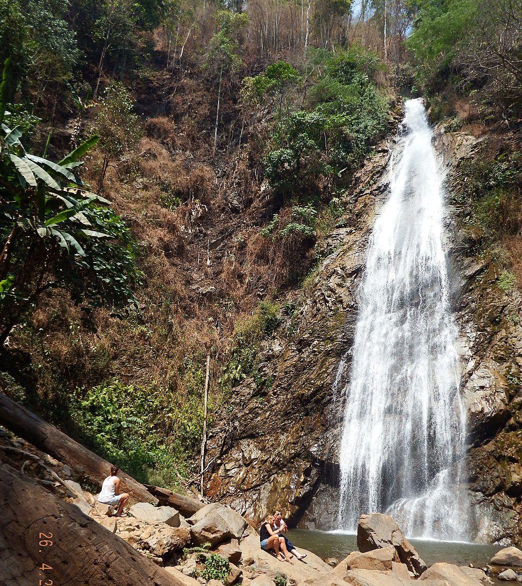 The beautiful view of Khun Korn's Waterfall