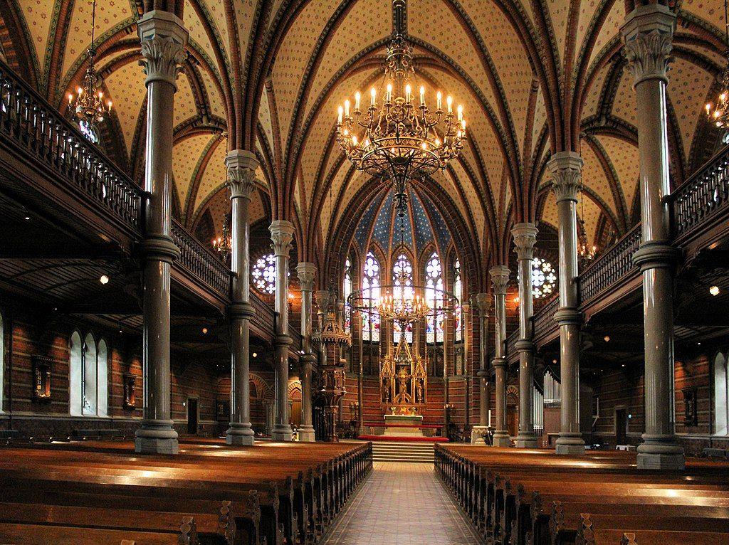Interior of All Saint's Church