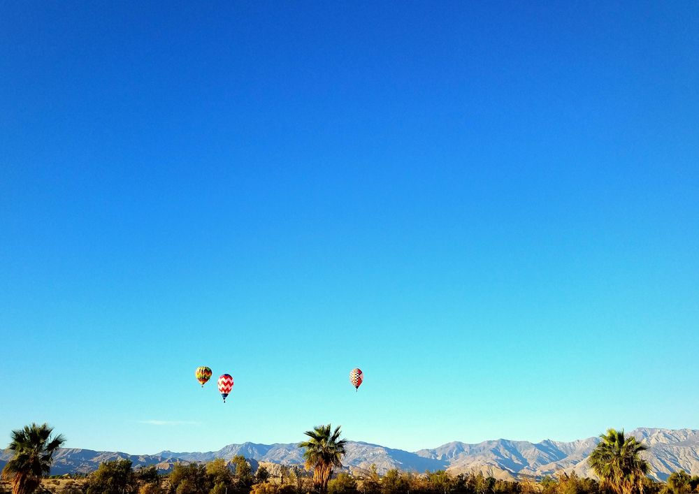 Hot Air Balloon in Coachella valley