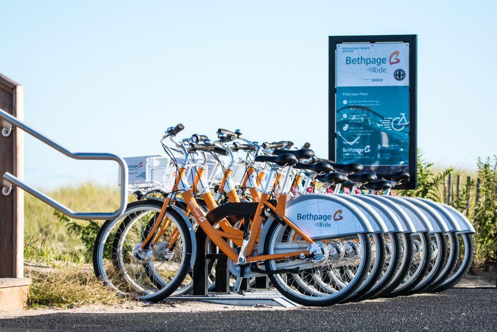 Bikes in Hamptons