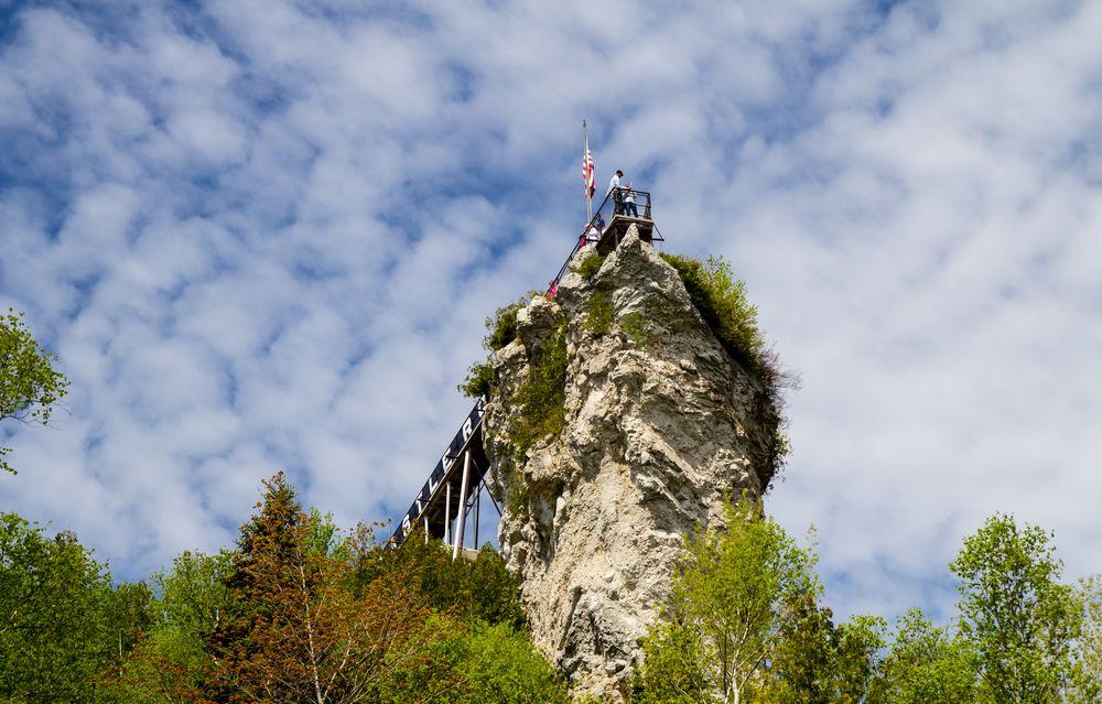 Castle Rock St.Ignace