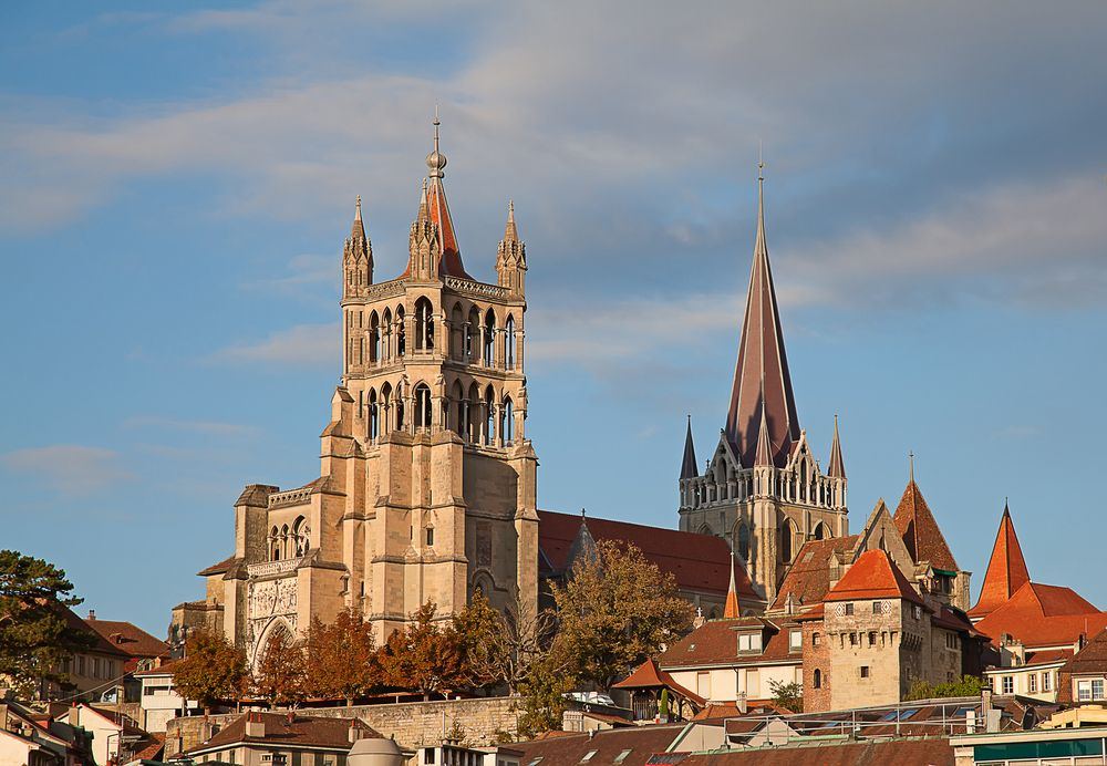 Cathedrale in Lausanne