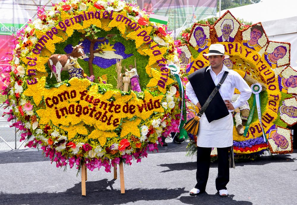 Parade during the Festival of Flowers
