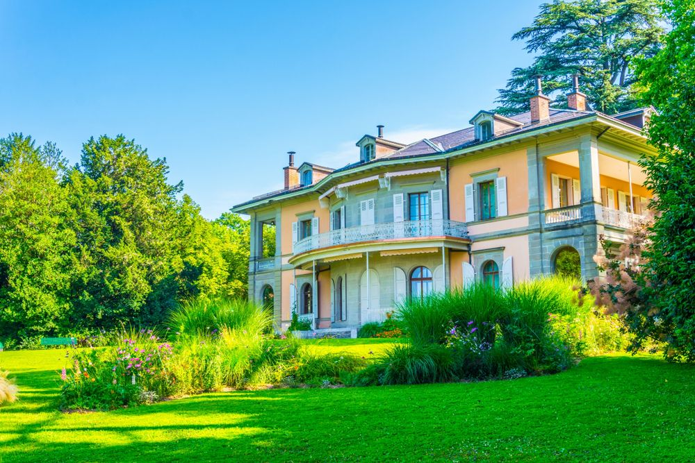 Fondation de l'hermitage in Lausanne