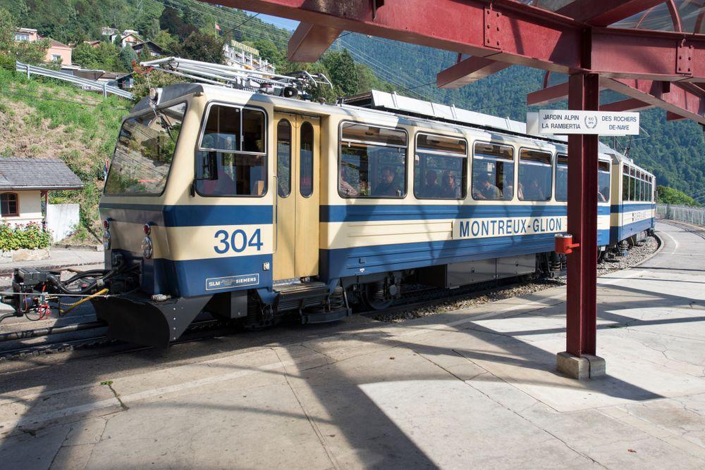 Glion Rochers De Naye Railway