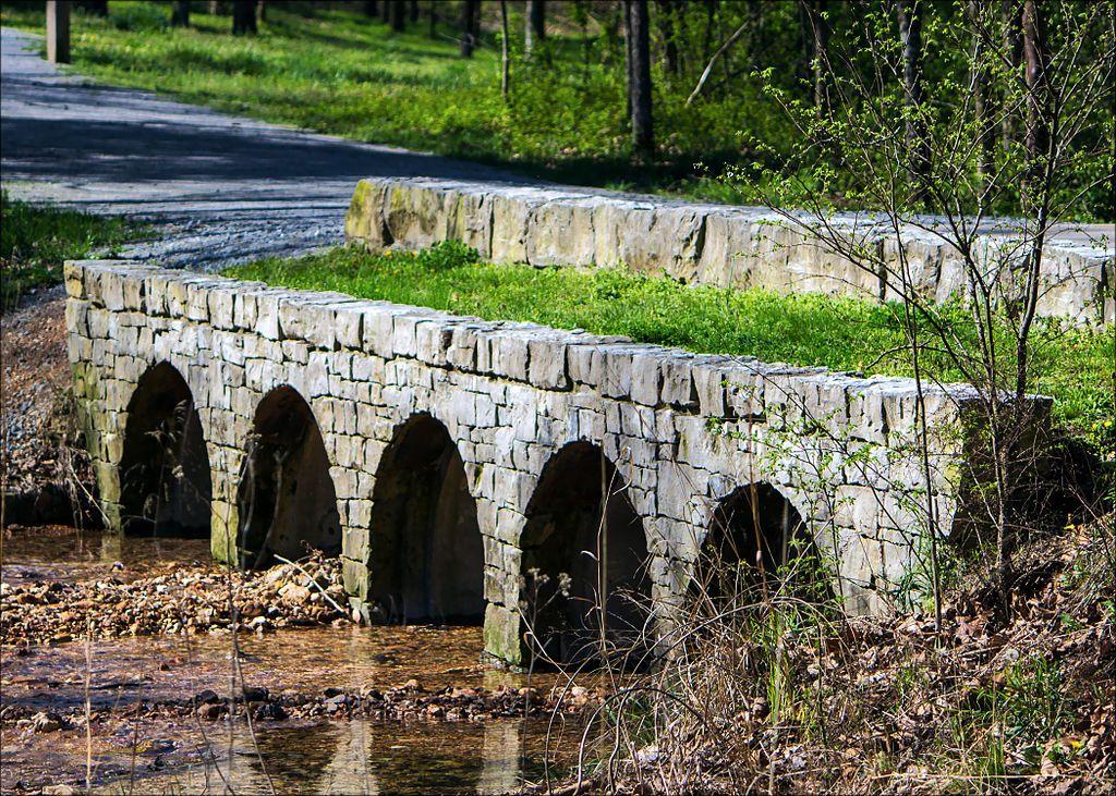 Bridge at Hobbs State Park Conservation Area